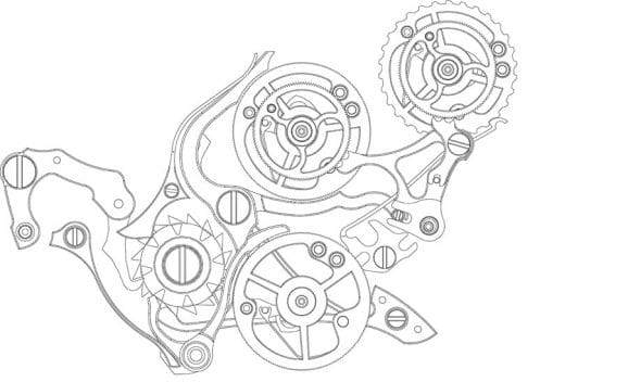 A. Lange & Söhne: Triple Split, Rattrapante- und Isolator-Mechanismus im Kaliber L132.1