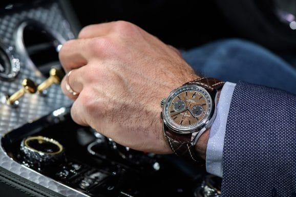 Nur 1.000 Stück werden von der Breitling Premier Bentley Centenary Limited Edition in Edelstahl gebaut