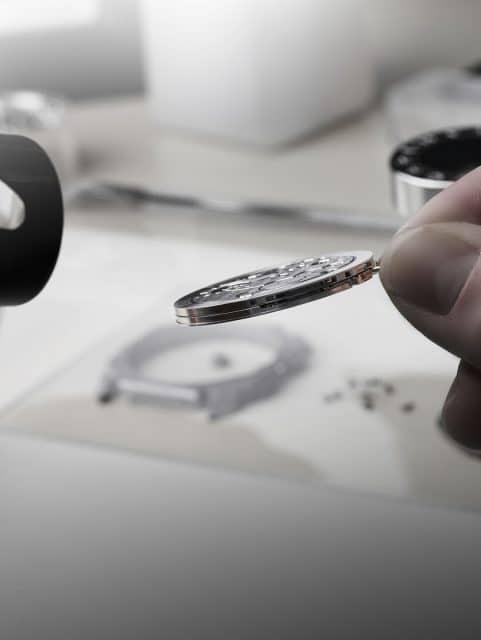 Bulgari: das ultraflache Kaliber BVL 318 des Octo Finissimo Chronograph ist nur 3,30 mm hoch
