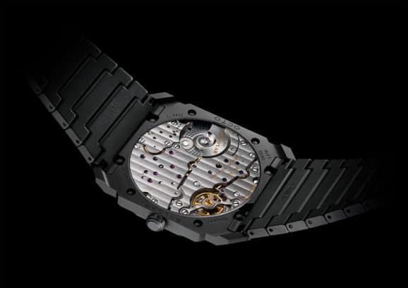 Bulgari: Octo Finissimo Automatic Ceramic mit Glasboden
