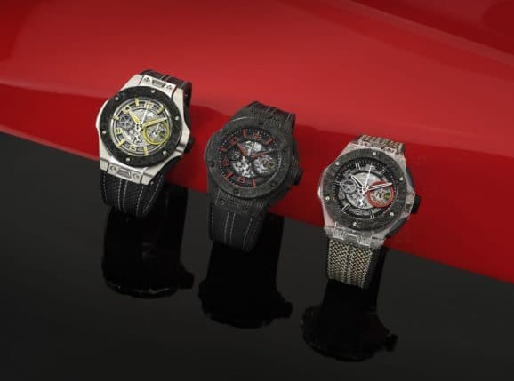 Hublot: Big Bang Scuderia Ferrari 90th Anniversary