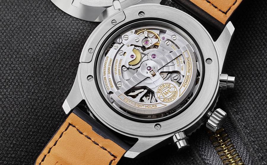 IWC: Manufaktur-Chronographen-Kaliber 89760 im Pilot's Watch Timezoner Chronograph