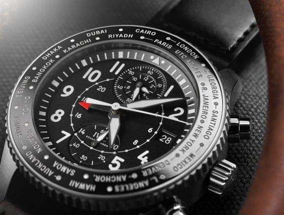 IWC: Pilot's Watch Timezoner Chronograph