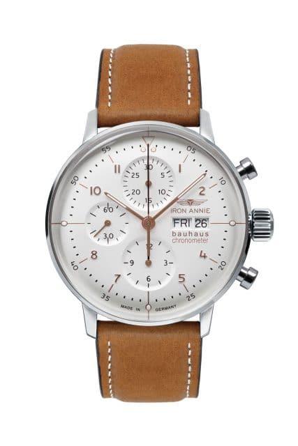 Iron Annie: Bauhaus Chronograph