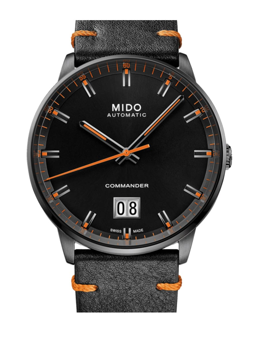 Mido Commander Big Date