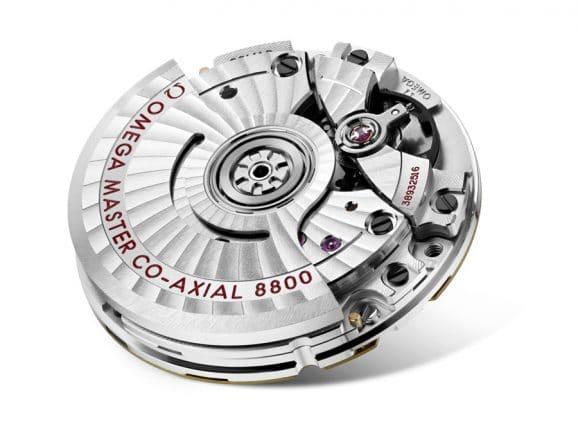 Omega: Co-Axial Master Chronometer Automatikkaliber 8800