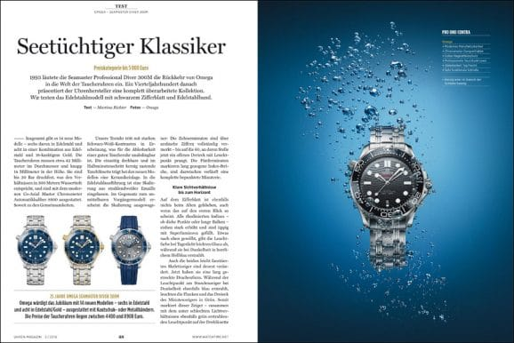Getestet: Omega – Seamaster Diver 300M