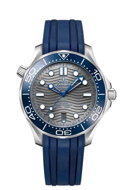 Omega: Seamaster Diver 300M in Edelstahl und mit Kautschukband
