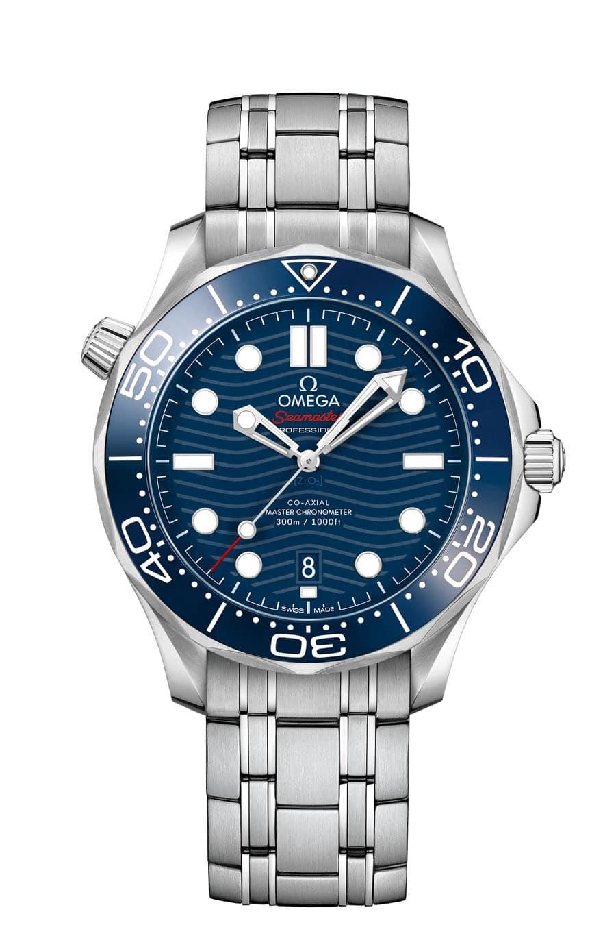 Omega: Seamaster Diver 300M ganz in Edelstahl