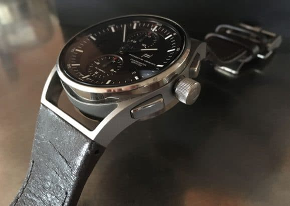Porsche Design: 1919 Chronotimer Flyback Brown & Leather