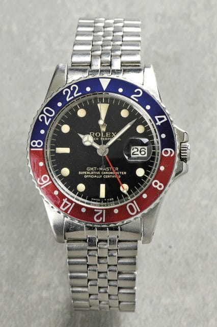 Rolex: Oyster Perpetual GMT-Master Superlative Chronometer