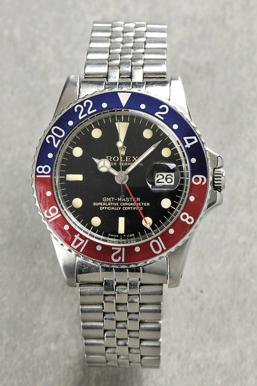 Rolex: Oyster Perpetual GMT-Master Superlative Chronometer von 1965