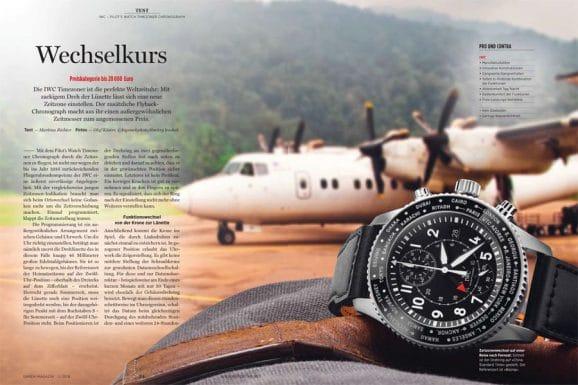 Getestet: IWC Pilot's Watch Timezoner Chronograph