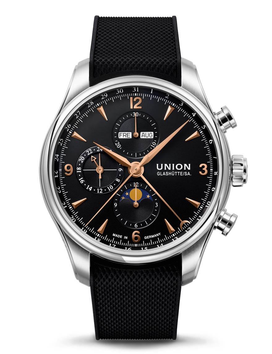 Union Glashütte: Belisar Chronograph Mondphase
