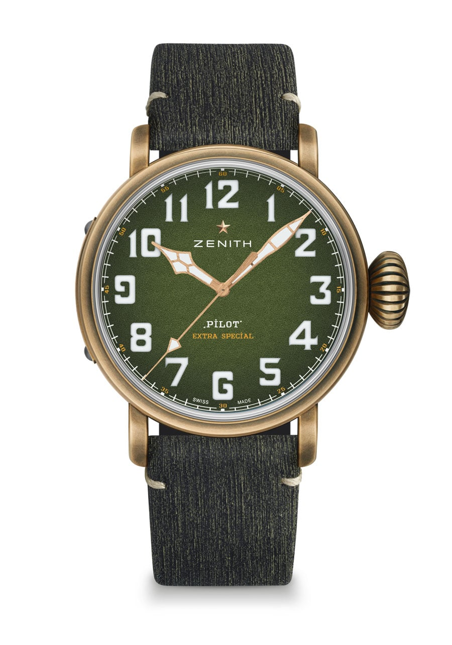 Zenith: Pilot Type 20 Adventure mit Matrix-Band