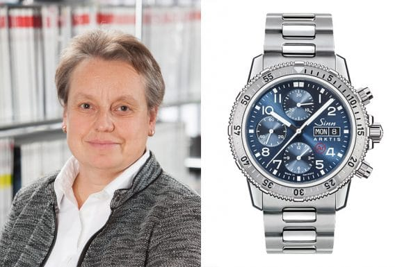 Sporuhrentipp von Martina Richter, stellvertretende Chefredakteurin des UHREN-MAGAZINS: Sinn Spezialuhren 206 Arktis II