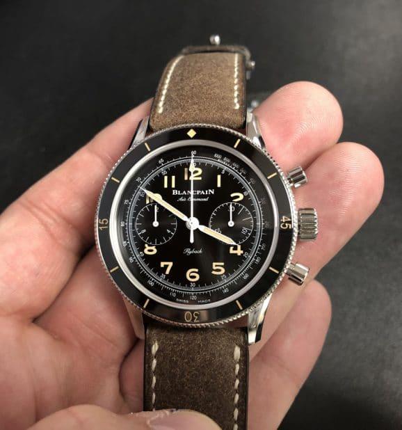Live-Bild des Blancpain Air Command Chronograph