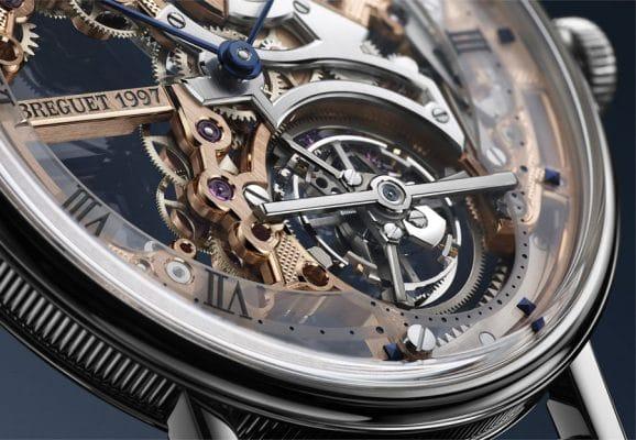 Breguet: Classique Tourbillon Extra-Plat Squelette 5395, Tourbillonkäfig