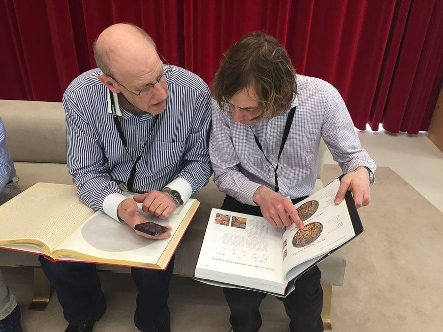 Chronos-Leserreise 2019: Recherche im Omega-Buch