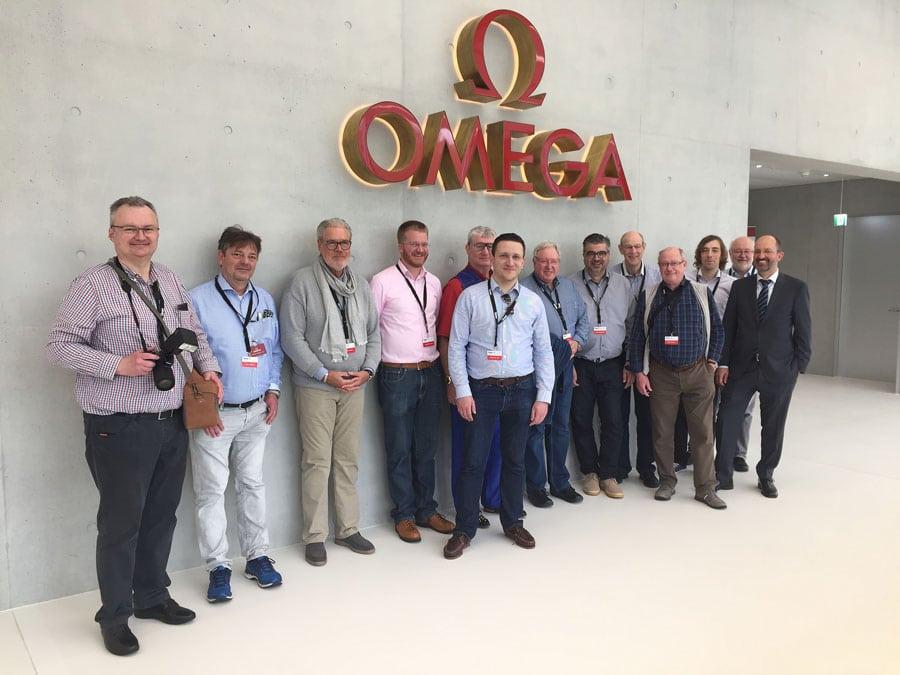 Chronos-Leserreise 2019: Besuch bei Omega