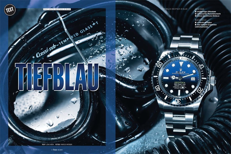 Produkt: Download: Rolex Deepsea D-blue im Test