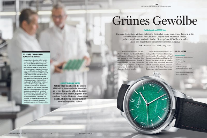 Produkt: Download: Glashütte Original Sixties im Test