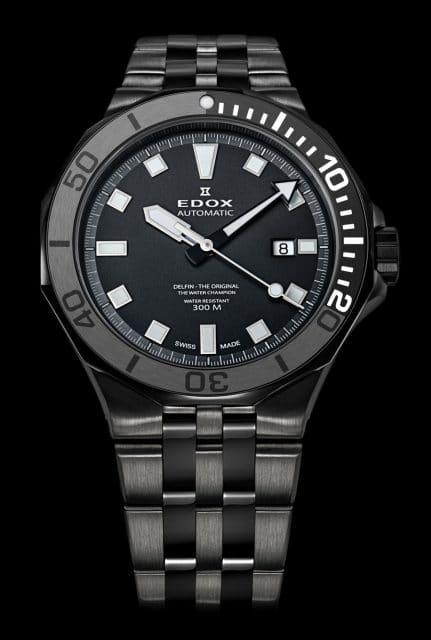 Edox: Delfin Diver Date Automatic