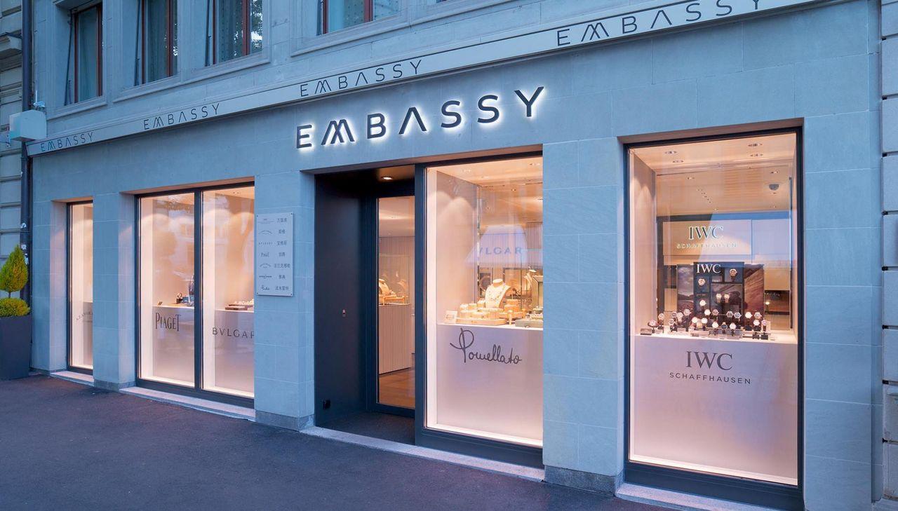 Embassy Juwelier Luzern Kapellplatz 12