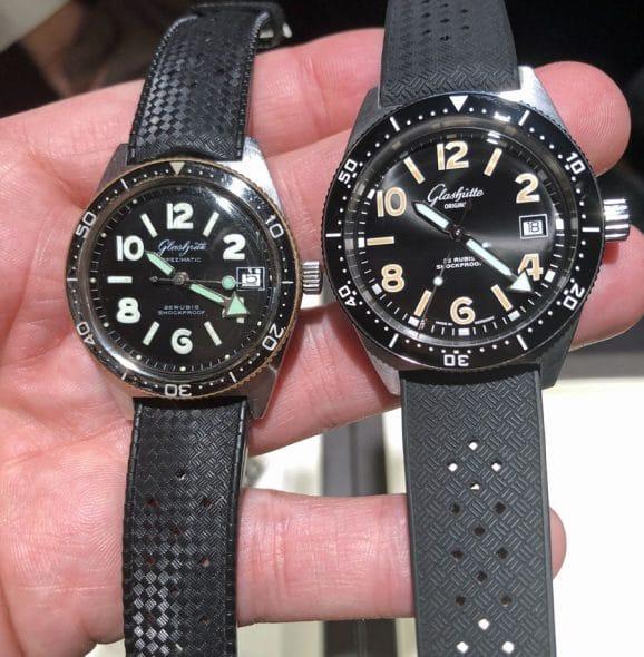 Vergleich: Glashütte Original SeaQ und die Vintage-Uhr Spezimatic Typ RP TS 200