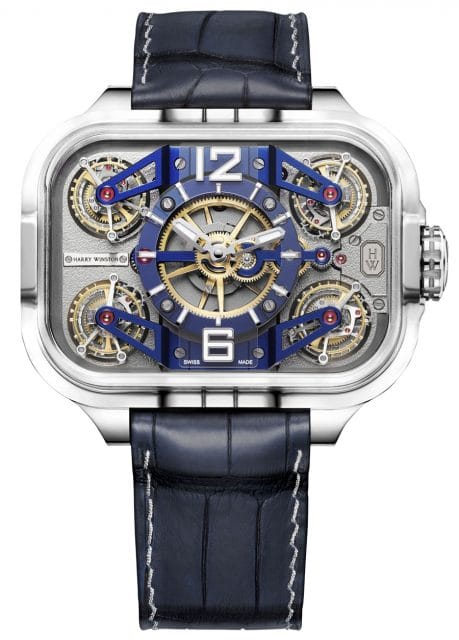 Harry Winston: Histoire de Tourbillon 10 in Winstonium