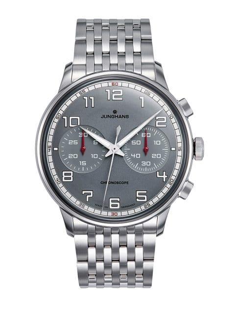 Junghans-Uhr mit Bicompax-Aufteilung: Meister Driver Chronoscope