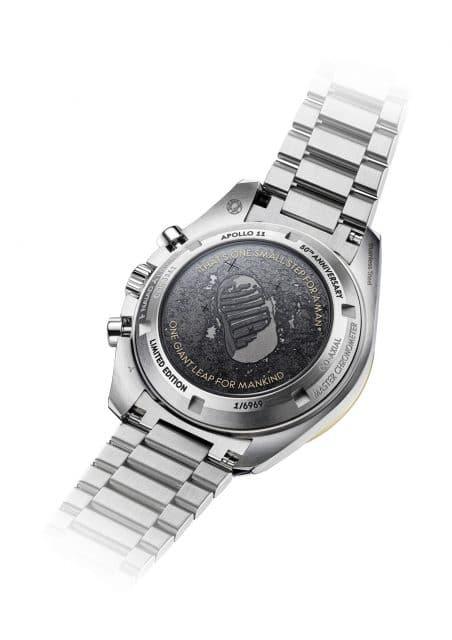 Omega: Die Rückseite der Speedmaster Apollo 11 50th Anniversary Limited Edition
