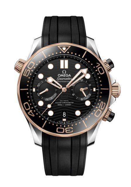 Omega: Seamaster Diver 300M Chronograph Bicolor