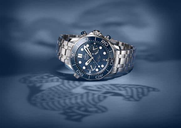 Omega: Seamaster Diver 300M Chronograph in Edelstahl