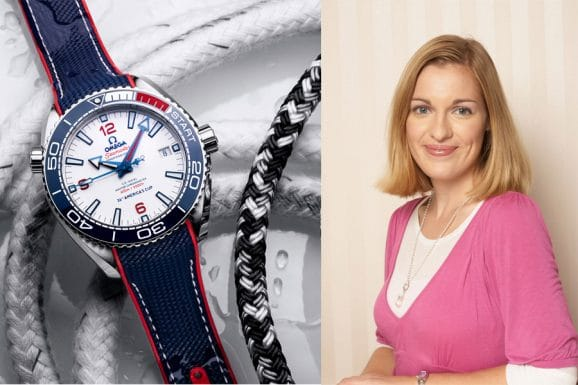 Watchtime.net-Redakteurin Katharina Studer empfiehlt die Omega Seamaster Planet Ocean 36th America's Cup Limited Edition