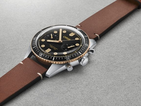Oris: Divers Sixty-Five Chronograph