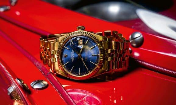 Die Rolex, die Niki Lauda seinem Retter schenkte