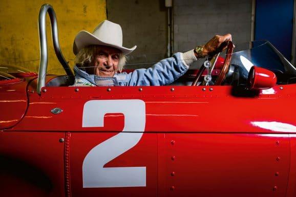 Rennfahrer Arturo Merzario mit der Rolex Datejust in Gold von Niki Lauda
