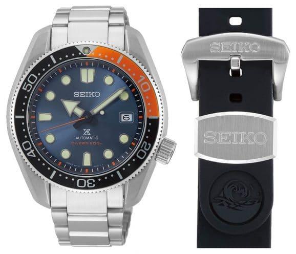 "Seiko Prospex Automatik Diver's Limited Edition ""Twilight Blue"" (SPB097J1) mit Kautschukband"