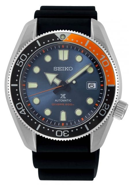 "Seiko Prospex Automatik Diver's Limited Edition ""Twilight Blue"" (SPB097J1) mit KautschukbandEdition-Twilight-Blue-Kautchukband"