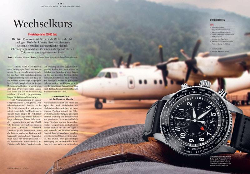 Produkt: Download: IWC Pilot's Watch Timezoner Chronograph im Test