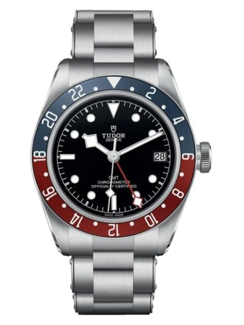 Tudor: Black Bay GMT mit rot-blauer Lünette