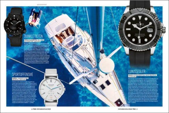 Wassersport ist eines der großen redaktionellen Themen im neuen Katalog