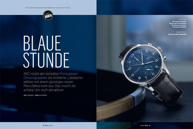 Produkt: Download: IWC Portugieser Chronograph Edition 150 Years im Test