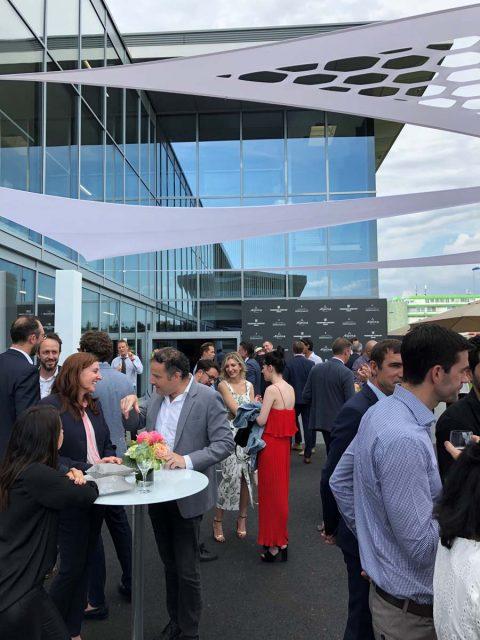 300 Gäste kamen zur Eröffnung der Manufakturerweiterung in Plan-les-Ouates. Foto: HC