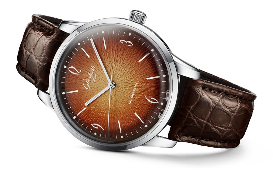 Glashütte Original: Sixties Jahresedition 2019 orange