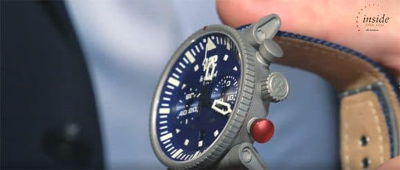 Hanhart Primus Carrier Pilot bei der ersten Hamburger UhrenNacht