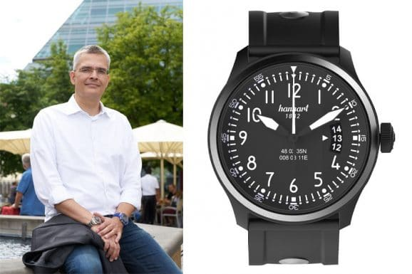 Rüdiger Bucher, Chefredakteur Chronos empfiehlt die Hanhart S 105 OE