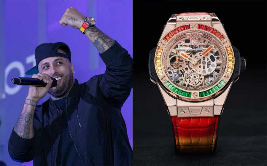 Promis und Uhren: Hublot und Nicky Jam