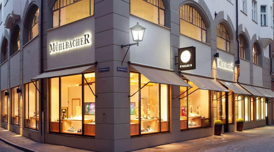 Juwelier Mühlbacher: Außenansicht